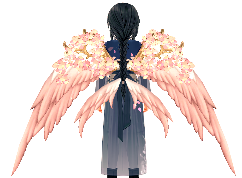 Mabinogi 12th Anniversary Full Bloom Yggdrasil Wings