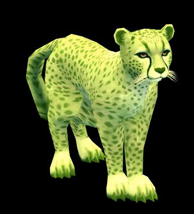 Mabinogi Green Cheetah Whistle
