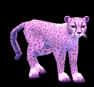 Mabinogi Violet Cheetah Whistle