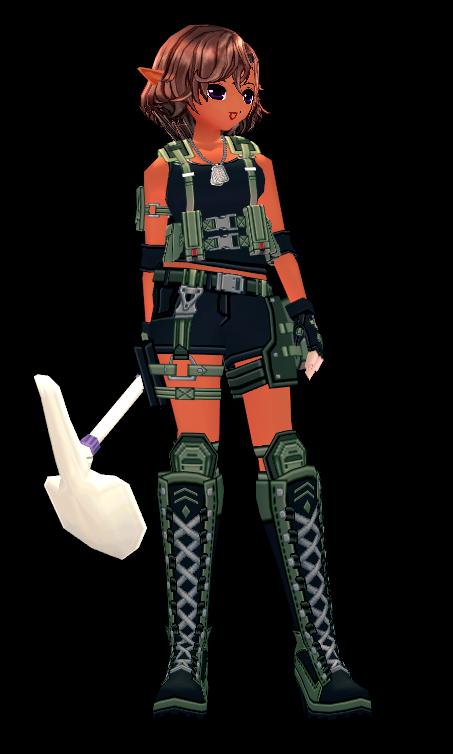 Mabinogi Soldier's Field Shovel Appearance Scroll