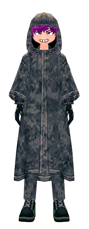 Mabinogi Soldier's Combat Raincoat