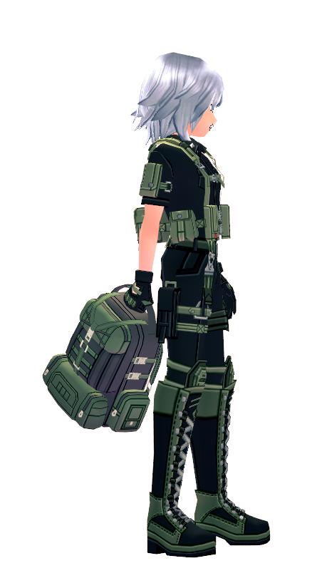 Mabinogi Soldier's Gear Bag