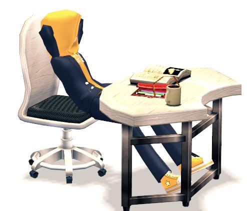 Mabinogi Class Slacker Assembly Desk
