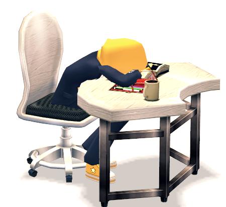 Mabinogi Crash Studier Assembly Desk