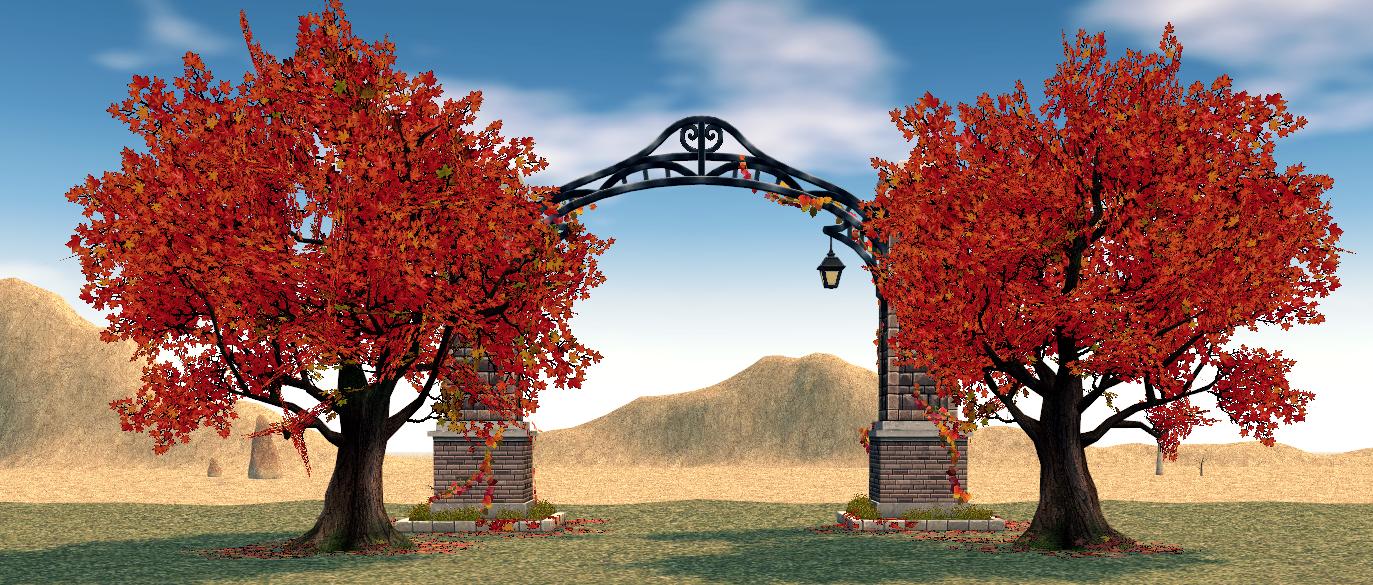 Mabinogi Homestead Campus Gate
