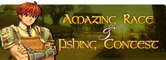 Amazing Race & Fishing Contest