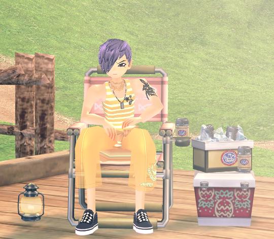 Mabinogi Nice Fishing Chair