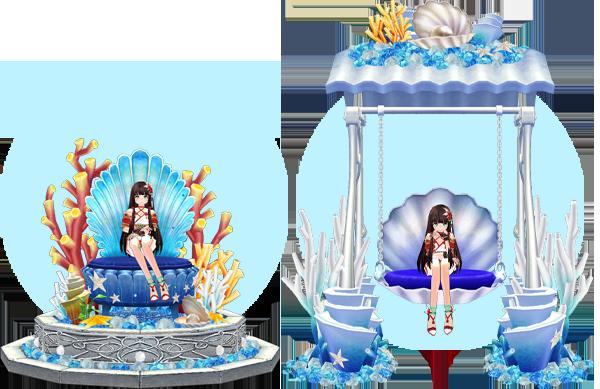 Mabinogi Deep Sea Throne, Mabinogi Deep Sea Shell Swing