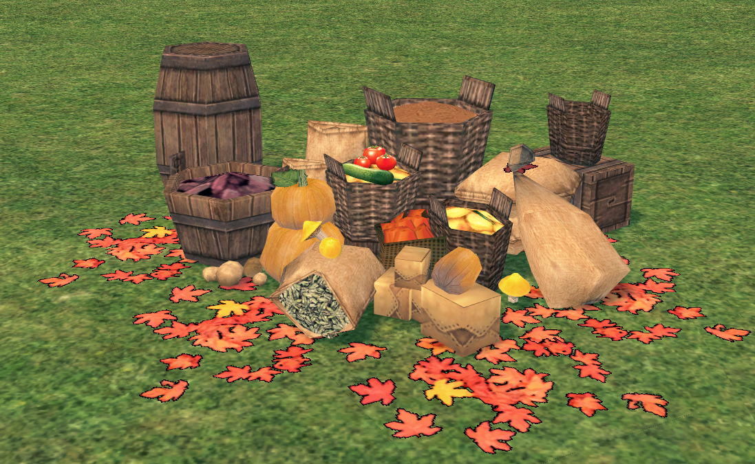 Mabinogi Homestead Autumn Harvest