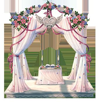 Mabinogi Homestead Wedding Altar