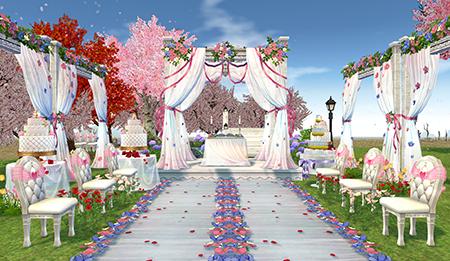 Mabinogi Homestead Wedding Set