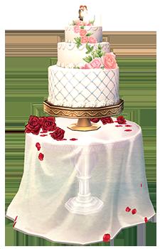 Mabinogi Homestead Wedding Cake