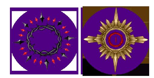 Mabinogi Sinful Thorn Halo, Mabinogi Demonic Eye Halo